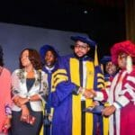 Fivestar Music CEO, E-Money, Bags Honourary Doctorate Degree