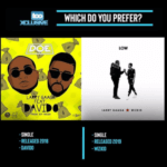 "Larry Gaaga's ""Doe"" ft Davido Vs ""Low"" ft Wizkid… Which Do You Prefer?"