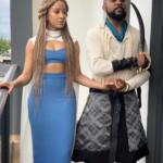 "See Stunning Picture Of Banky W & Wife, Adesuwa Dress Like Daenarys Targaryen & Sir Jorah Of ""Game Of Thrones"""
