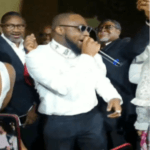 Watch Femi Otedola & Other World Billionaires Storm The Stage While Davido Performs At A Wedding In Paris, France