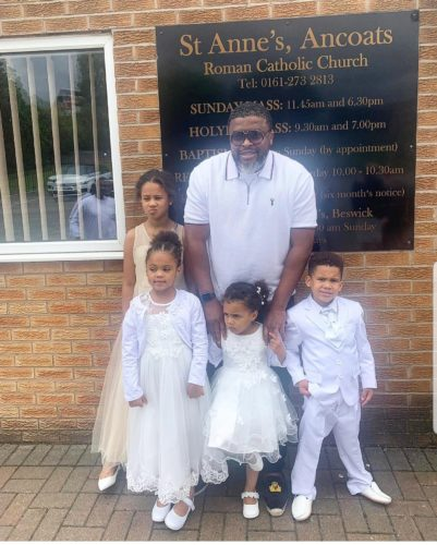 Larry Gaaga Shows Off His Adorable Kids Who Live In The United Kingdom www.naijatopcelebrity.com
