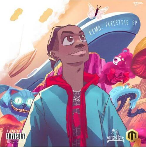 "Rema ""Freestyle EP"""