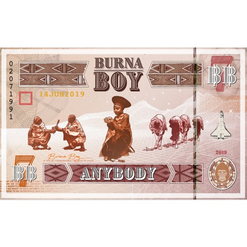 "Burna Boy ""Anybody"""