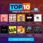 Wizkid & Burna Boy Lose The Top Spot On The Top 10 Songs Of The Month | June Edition