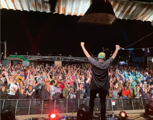 DJ Spinall Breaks Record, Becomes First Nigerian DJ To Perform At Glastonbury Festival