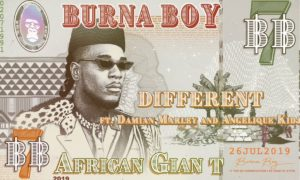 "Burna Boy - ""Different"" ft. Damian Marley x Angelique Kidjo"