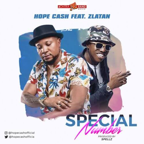 "[Audio + Video] Hope Cash x Zlatan – ""Special Number"" (Prod. Spellz)"