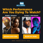 "Davido's ""Blow My Mind"" Ft Chris Brown Vs Beyonce's ""Brown Skin Girl"" Ft Wizkid – Which Performance Are You Dying To Watch?"