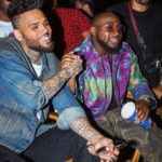 Chris Brown Brings Out Davido On Stage In Washington DC For The 2nd Time At His Indigoat Tour