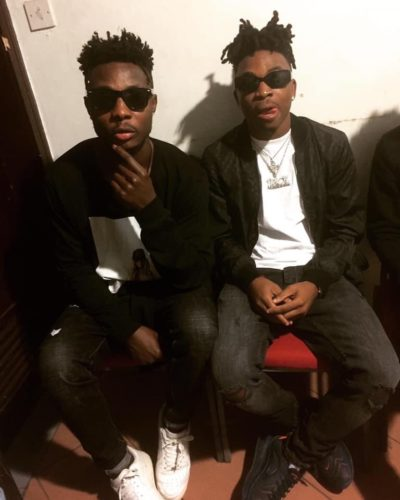 """Wow! Meet Mayorkun's Twin brother, """"Wole DSB"""" Who Is Even More Talented Than Him – All Thanks To Davido For Mayorkun's Life though"""