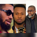 Larry Gaaga, Phyno & Flavour On Set Of Incoming Music Video