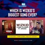 """Ojuelegba, ""Come Closer,"" ""Holla At Your Boy"" – Which Is Wizkid's Biggest Song Ever?"