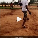 Watch Zlatan Display Skills Reminiscent Of The Brazillian Ronaldo In This Throwback Video At Ipaja, Lagos