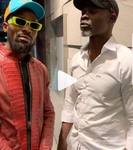 "Watch D'banj & ""Blood Diamond"" Actor, Djimon Honsou Argue About Which Country Has The Best Jollof Rice"