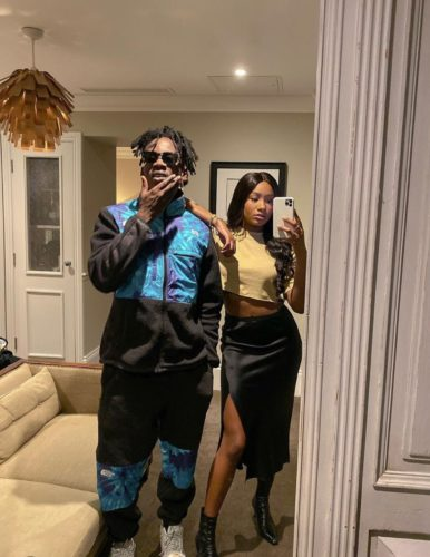 Mr Eazi's Girlfriend; Temi Otedola, Turns His Dream To Reality As She Gives Him Priceless Gift