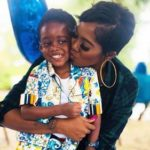 "Watch Tiwa Savage's Son, Jamal Sing Gloriously To Burna Boy's Song; ""Anybody"""