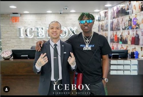 "Zlatan Goes To Icebox To Get His ""Zanku"" Covered With Diamonds 