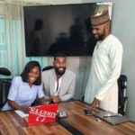 Banky W Announces The Signing Of Ex-Big Brother Naija Housemate; Mike & Wife To EME