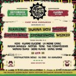 AFRO NATION GHANA ANNOUNCE FOURTH WAVE OF TALENT FEATURING D'BANJ, R2BEES, EFYA, FALZ + MORE