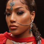 Stefflon Don Goes Indian As She Disturbs The Internet With These Amazing Hindu Pictures