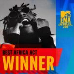 Burna Boy Wins Best African Act Ahead Of Teni, Others At The 2019 MTV EMAs || See Full List Of Winners