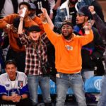 Watch Davido And US Actor; Ellen, Pompeo Link Up In At A Basketball Match The United States