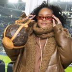 Rihanna Seen In Italy Watching Juventus Vs Atletico Madrid Inside The Aliianz Stadium || Watch Video