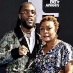Watch Burna Boy's Mom's Thrilling Suprise Reaction After Hearing Her Voice On Burna's Record For The 1st Time Ever