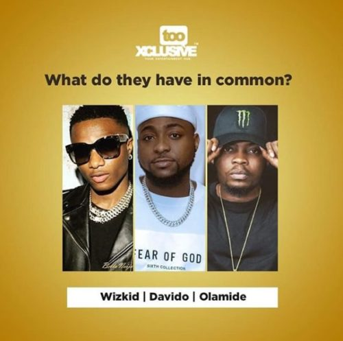 Davido, Wizkid & Olamide – What Do They Have In Common?