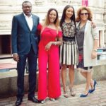 Watch DJ Cuppy, Femi Otedola, Mom & Sisters Live Lavida Loca In Expensive Luxury Tour Bus