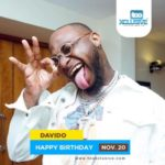Happy Birthday Davido… Send Your Birthday Wishes