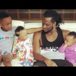 Watch This Beautiful Video Of Rudeboy & His Kids 'Rehearsing For A Forthcoming Concert'