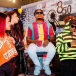 3 Kings! Watch Wizkid, Olamide & Phyno All Vibe Together At Fireboy's Powerful Album Listening Party