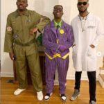 See Entertaining Halloween Pictures Of Rema & Boss; D'Prince, In The United States