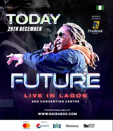 Future Set Lagos Wild fire With His Performance at FutureLive inLagos