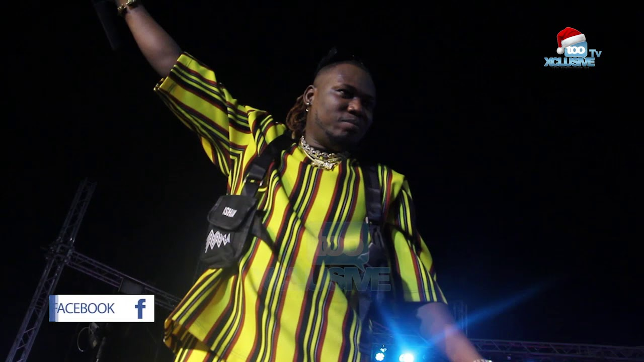 Watch Qdot's Spectacular Performance At Small Doctor's Omo Better Concert In Lagos 1