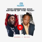 Burna Boy VS Naira Marley – Who Deserves 2019 Artiste Of The Year?