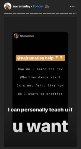 "Naira Marley Offers To Give Toke Makinwa Special ""Private"" Tesumole Dancing Lessons 2"