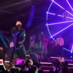 "Kizz Daniel Joins Davido On Stage At ""A Good Time With Davido"" Concert In Lagos"