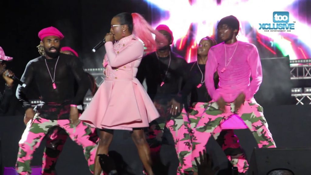 DJ Cuppy Owns Her Craft In Grand Performance At Cardi B's Livespot Festival || Watch Video 1