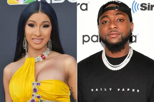 """GX GOSSIP: Davido & I Recorded """"Fall"""" Remix 9 Months Ago, But My Label Didn't Allow Us Release It – Cardi B Reveals Previous:"""