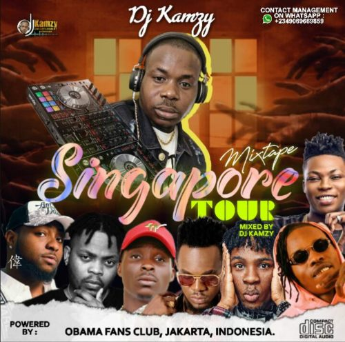 "DJ Kamzy - ""Singapore Tour Mixtape"""
