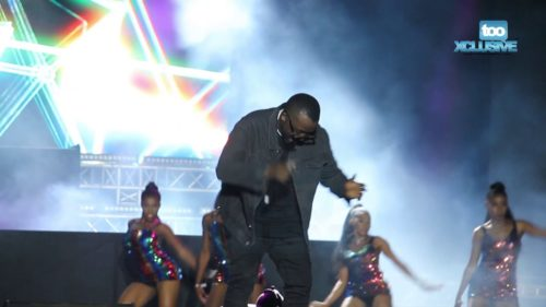 Ice Prince Held Down The Hip-Hop Culture For Africa At Cardi B's Livespot Festival || Watch Video