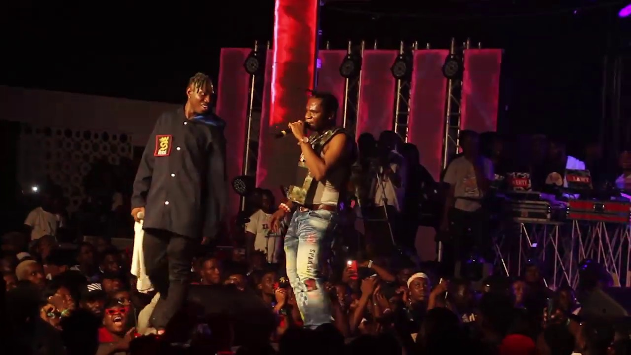 Watch Speed Darlington's Electrifying Performance At Zlatan's Concert 1