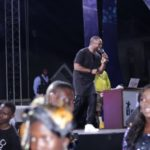 Seyi Shay and Dare Art Alade Delights Fans In Calabar, As Access The Stars Heads To Onitsha.