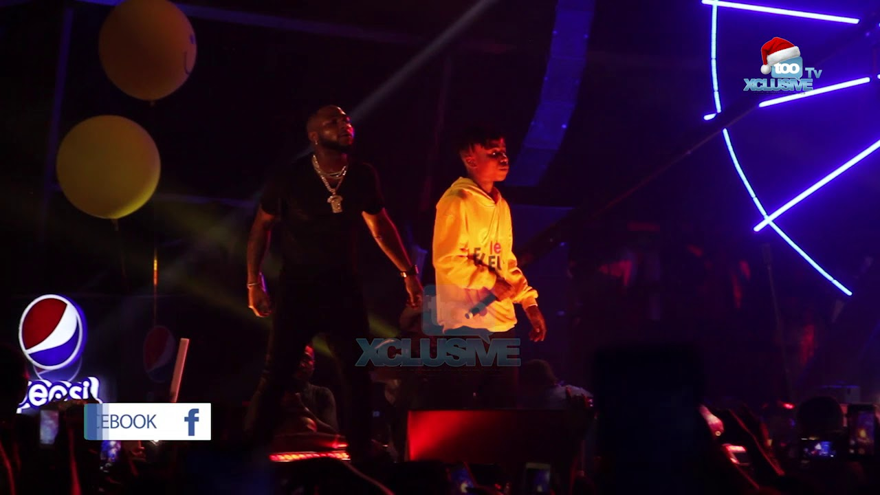 "Lyta's Dream Comes To Pass As He Finally Performs ""Monalisa"" With Davido On Stage 