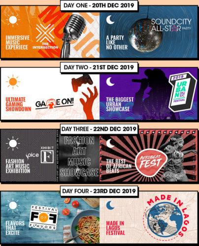 Rema, Joeboy, Asa, Big Trill, Tems, Femi Kuti, Olamide Headling Xchange 100 Festival from Dec 20th – 23rd 1