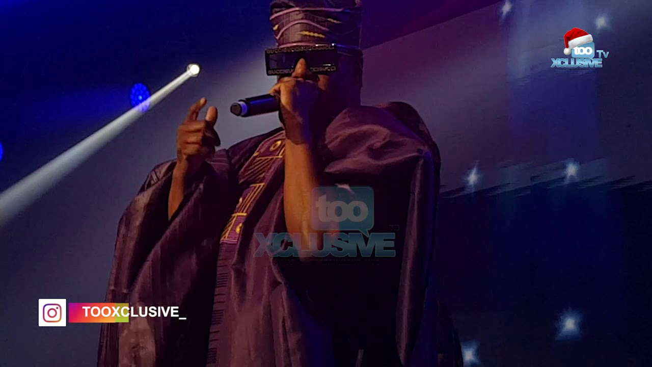 Watch US Rapper; Mase's Amazing Performance In Agbada Attire In Lagos 1