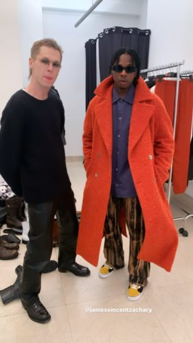 Runtwon Turns Model, Hits The Runway For Offwhite At The Men's Fashion Week In Paris 3