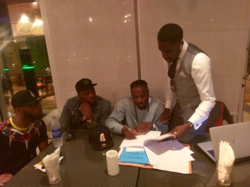 """""""Lies! I Never Signed The Contract"""" – King Patrick Fires Back At Peruzzi For Lying About Signing With Davido"""